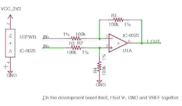 Difference Amplifier Circuit