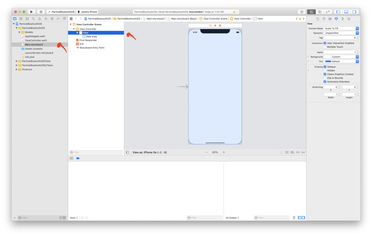 Updating view in Xcode